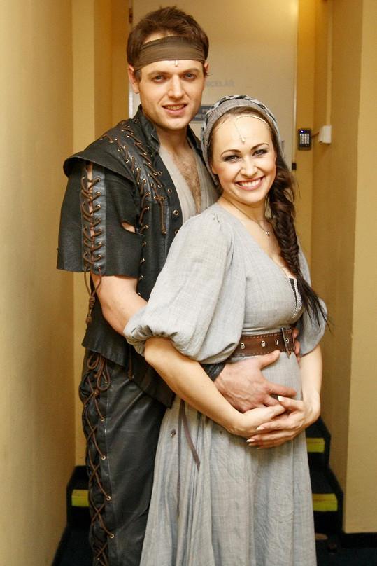Manželé ve své domovské scéně, v divadle Kalich