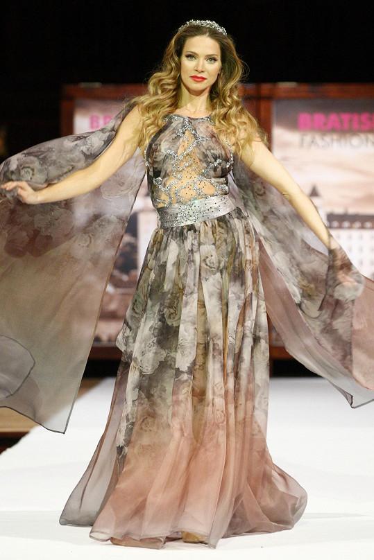 Verešová byla hvězdou projektu Bratislavské módne dni na Slovensku i v Česku.