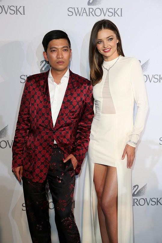Miranda s milovaným i nenáviděným filipínským blogerem Bryanem Boyem.