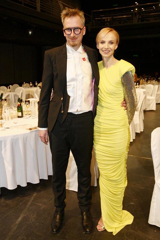 Jana Plodková s partnerem Filipem Žilkou