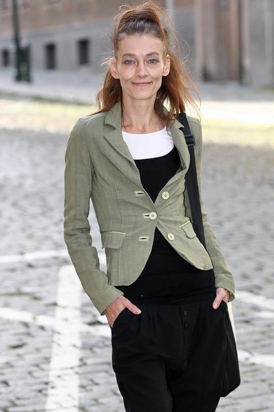 Monika Kvasničková ochotně pózovala.