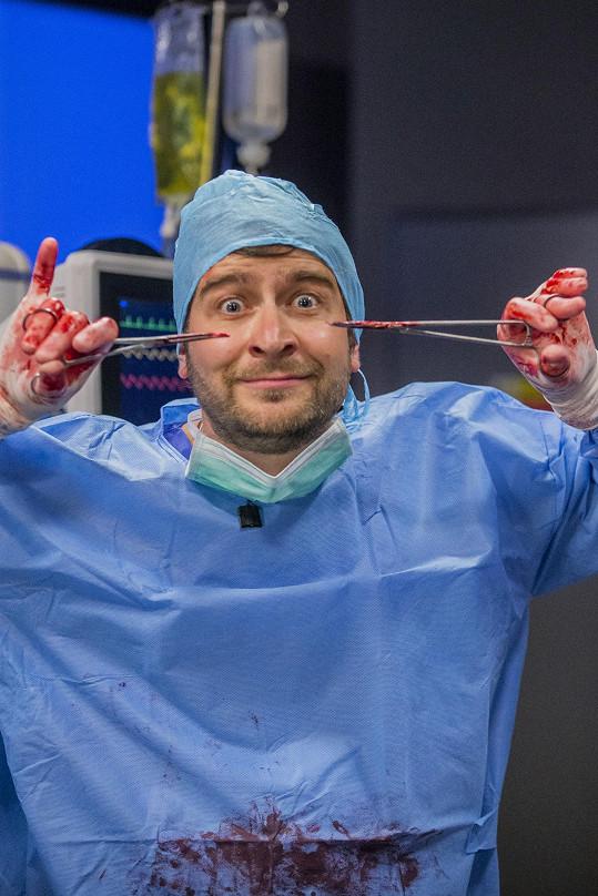 Marek jako populární doktor Hofbauer
