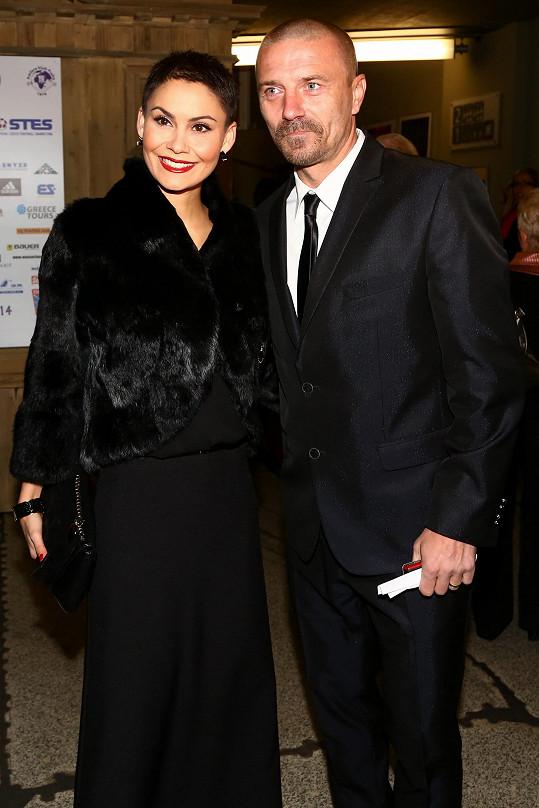 Tomáš Řepka s exmanželkou Vlaďkou Erbovou (archivní foto)