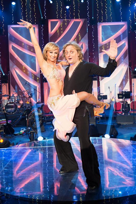 Ve StarDance tančila s Lukášem Pavláskem.
