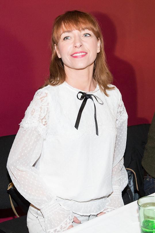 Tatiana Dyková rozdávala úsměvy.