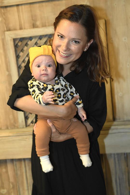 Ivana si už skoro čtyři měsíce užívá roli maminky.