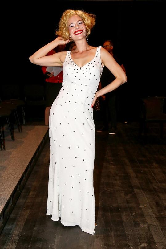 Zuzana Kajnarová jako Marilyn Monroe