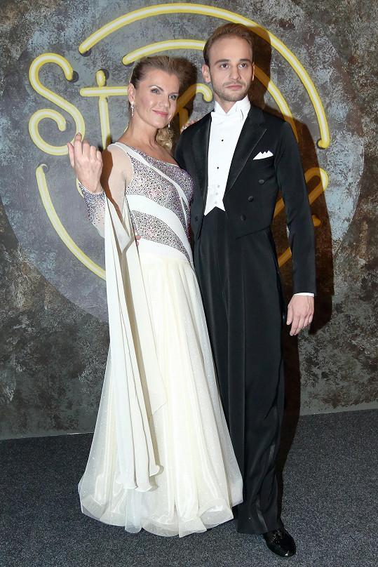 Leona Machálková a Michal Necpál patří k favoritům StarDance.