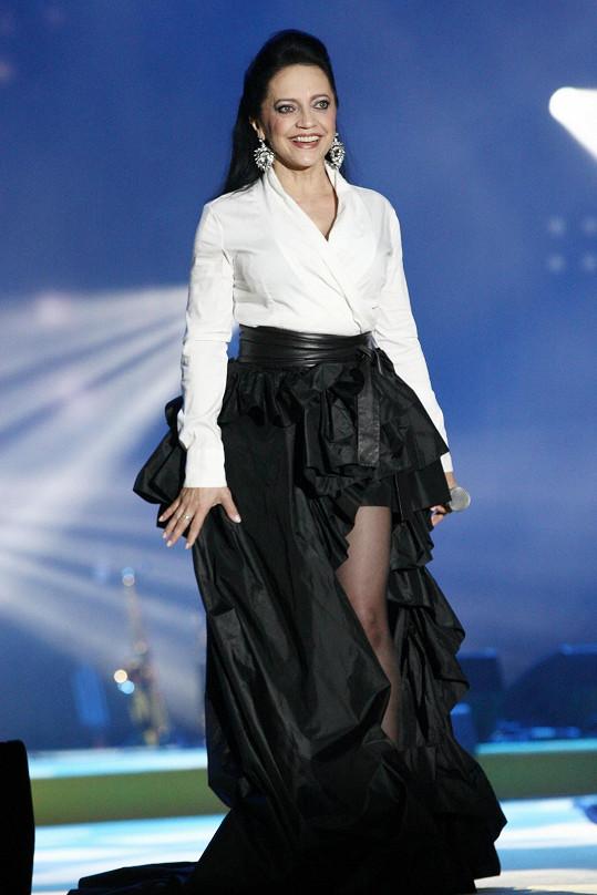 Lucie Bílá na koncertu Rádia Impuls