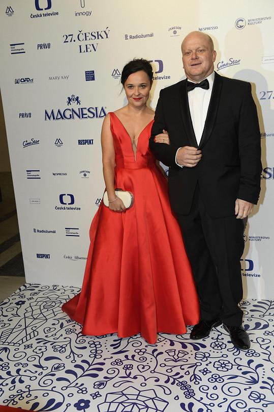David Novotný s partnerkou