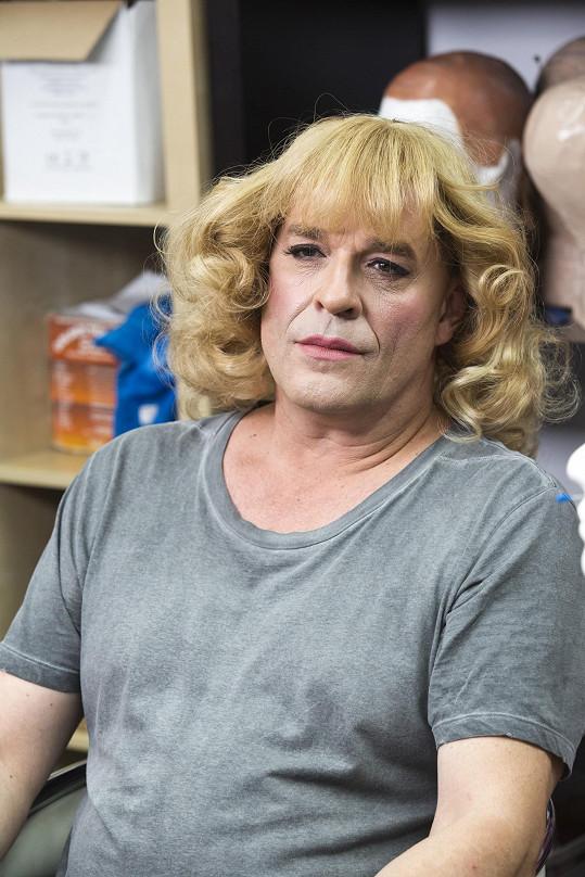 Miroslav Etzler v maskérně
