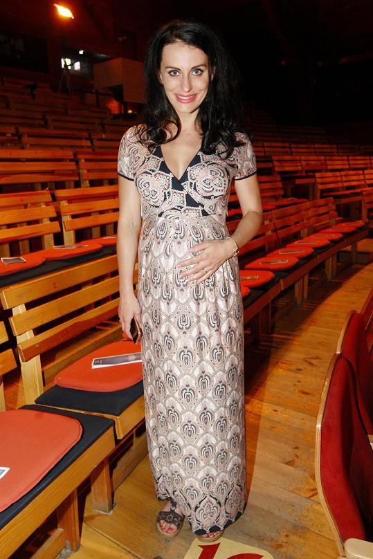 Markéta Procházková je v 7. měsíci těhotenství.