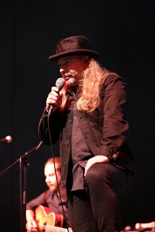 Petr Kolář na festivalu Kouřimská skála.