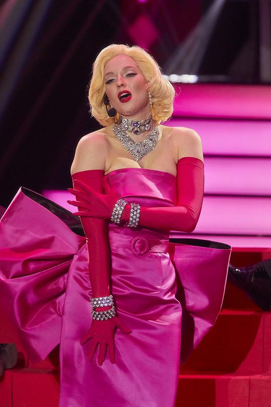 Berenika Kohoutová jako Marilyn Monroe