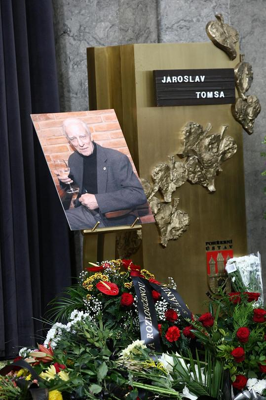 Jaroslav Tomsa podlehl minulý týden rakovině.