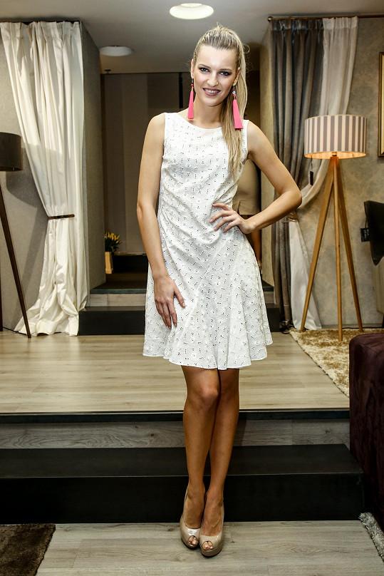 Veronika patří mezi modelky s nejlepší postavou.