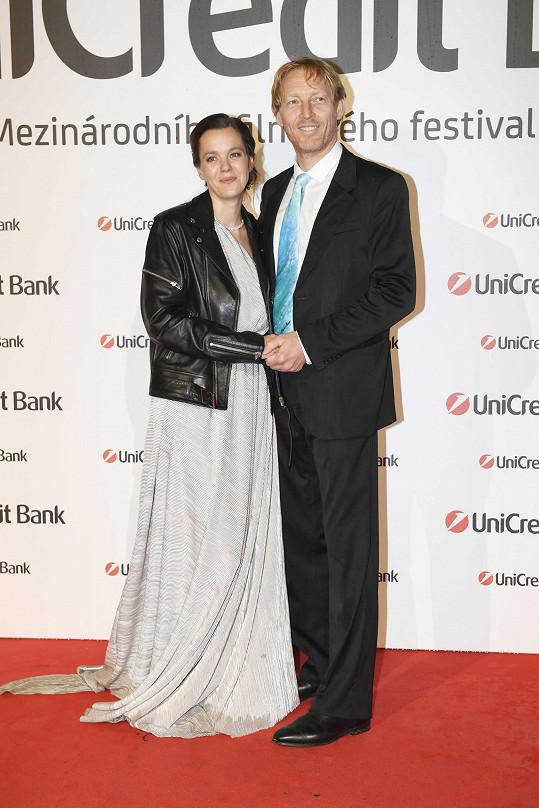 Lilia s partnerem Karlem Janečkem
