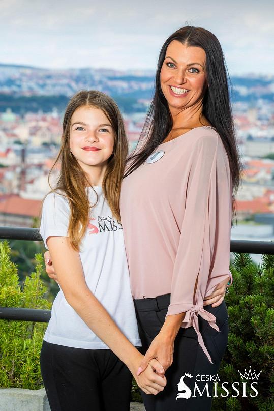 Jitka Pelikánová se svojí krásnou dcerou