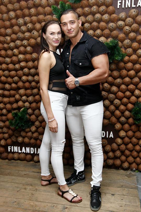 Kamila s přítelem Pepou