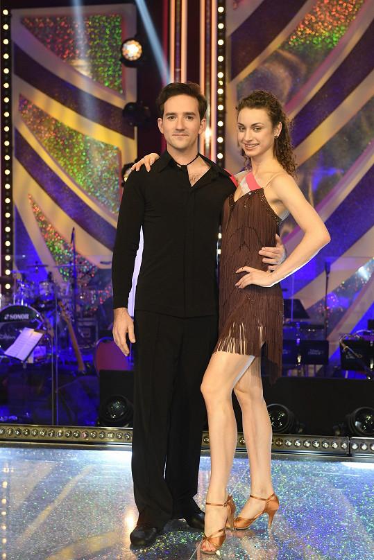 Natálie Otáhalová soutěžila ve StarDance s Matoušem Rumlem.