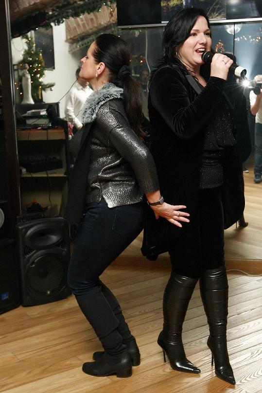 Adriena Sobotová tančila jako o život.