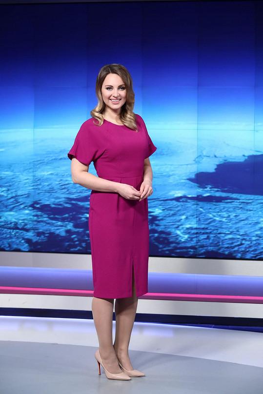Moderátorka Katka Říhová