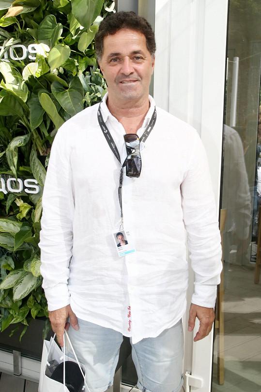 Martin Dejdar si popletl tenistky Strýcovou a Šafářovou.