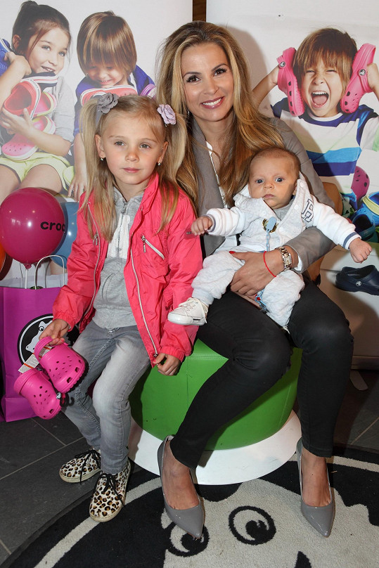 Tereza a její děti Editka s Benediktem