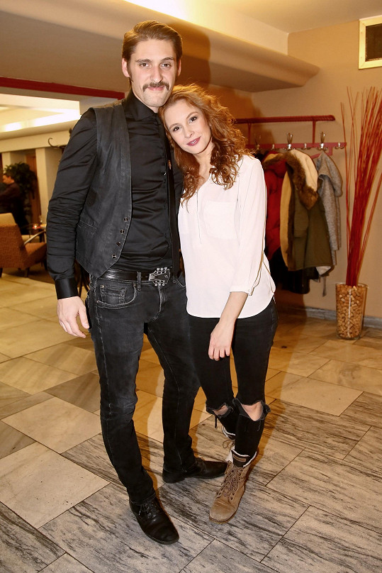 Denisa s přítelem Honzou