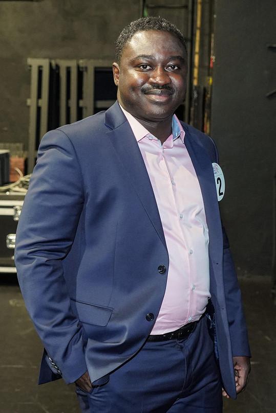 Patrice Awonseba Baba Musah žije v Česku už patnáct let.