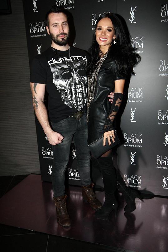 Václav Noid Bárta s manželkou vypadali jako opravdové rockové hvězdy.