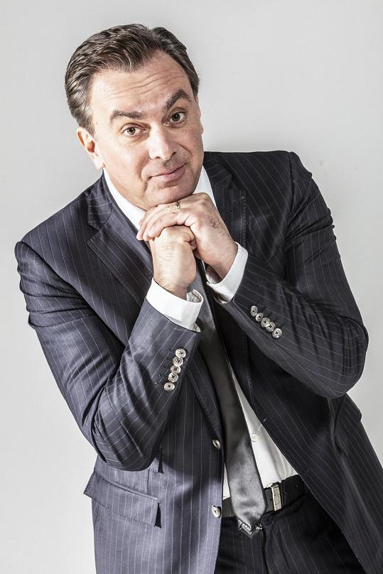 Tomáš Matonoha v neděli odstartuje novou show.