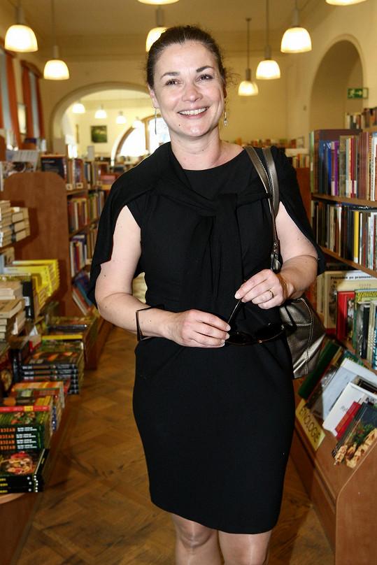 Martina Preissová nešetřila úsměvy.