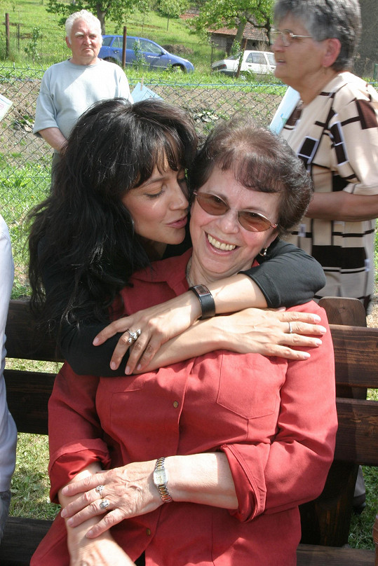Lucie Bílá s maminkou Hanou
