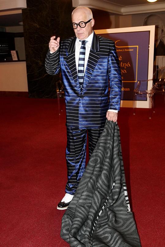 Bob Klepl v kostýmu rádce