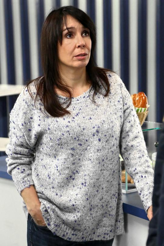 Nela Boudová nastupuje do seriálu Modrý kód.
