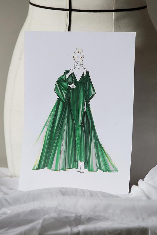 Model byl inspirován dva roky starou kolekcí.