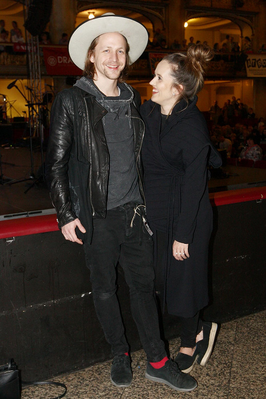 Tomáš Klus s manželkou Tamarou