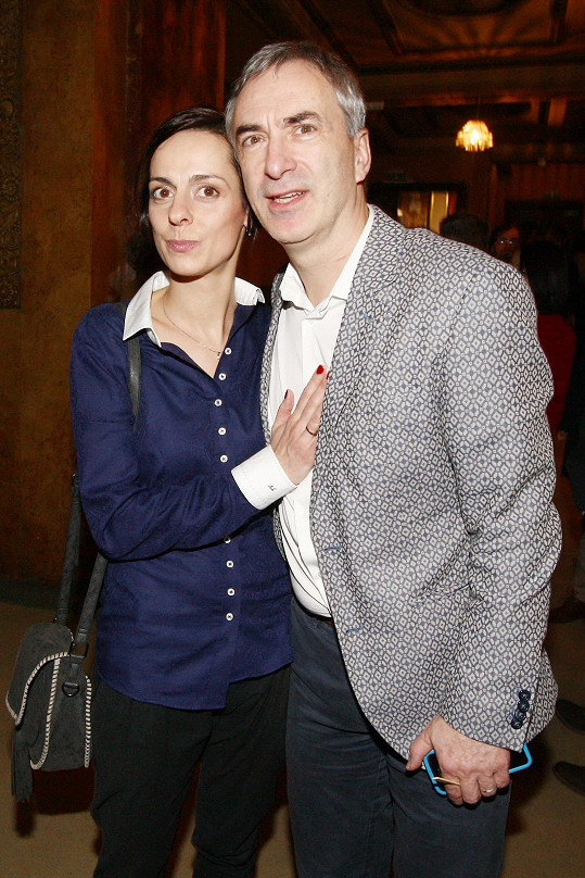 Petr Vacek s manželkou Jiřinou