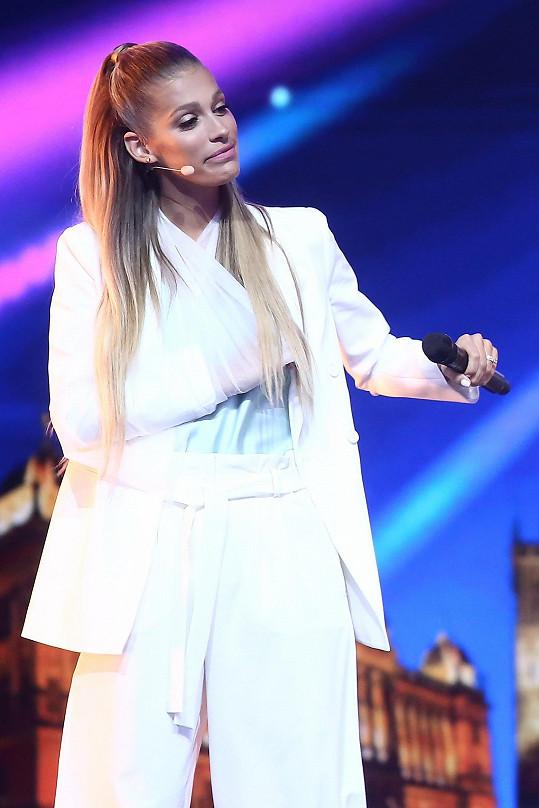 Jasmina Alagič několik dílů Talentu natáčela se zlomenou rukou.