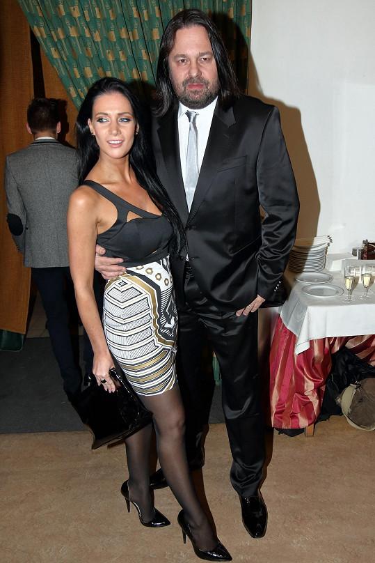 S manželem Jiřím Pomejem