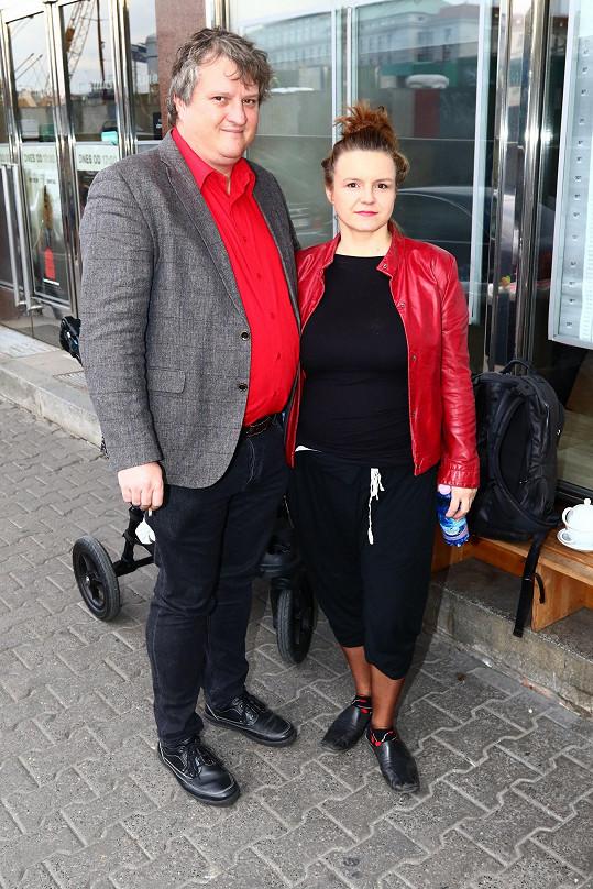 Halka Třešňáková a Tomáš Jeřábek