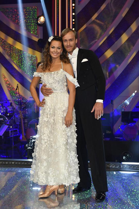 Jakub Vágner a Michaela Nováková tvoří krásný pár ve StarDance.