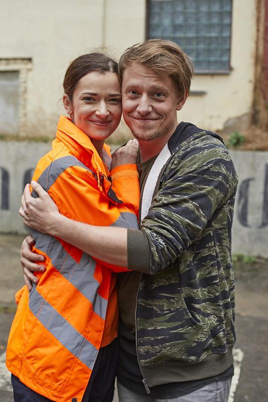 S kolegyní Marikou Šoposkou, pro niž je Ordinace první zkušeností s tzv. nekonečným seriálem.