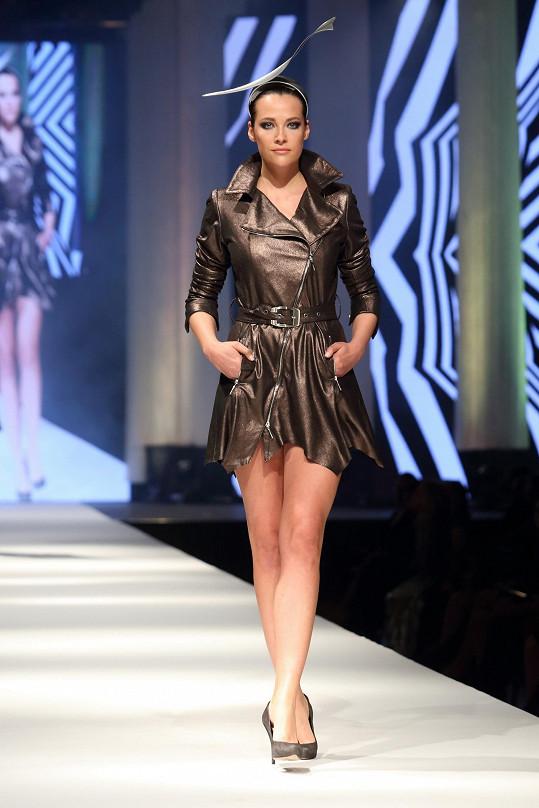 Kateřina na módní show Natali Ruden