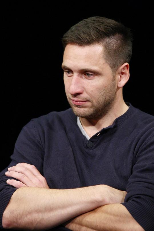 Martin Písařík zkouší hru Celebrity s.r.o.