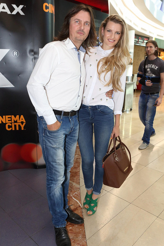 Veronika Procházková s bratrem