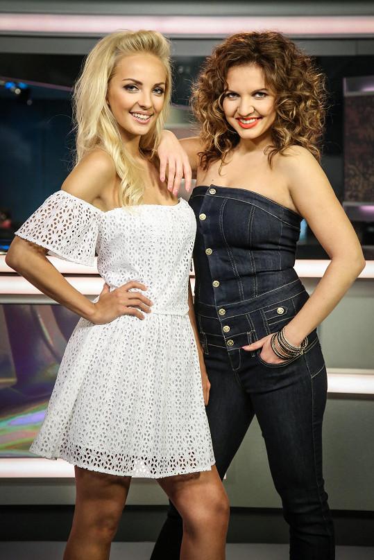 Lucie Špaková a Andrea Košťálová o post moderátorek přijdou.