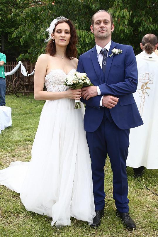 Bára Jánová a její seriálová svatba