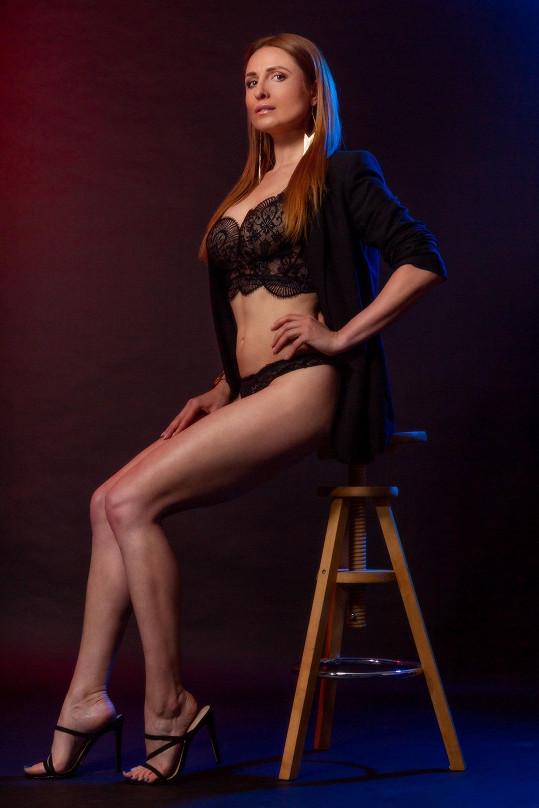 Romana Pavelková má vysportované sexy křivky.